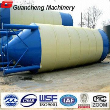Cement Silo Of Concrete Batching Plant 100ton Cement Steel Silo For