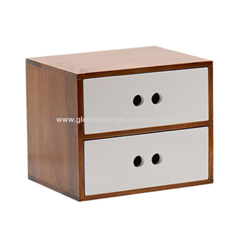 Wooden small storage drawers China Wooden small storage drawers  sc 1 st  Global Sources & China High quality 2 layer wooden small storage drawers with best ...