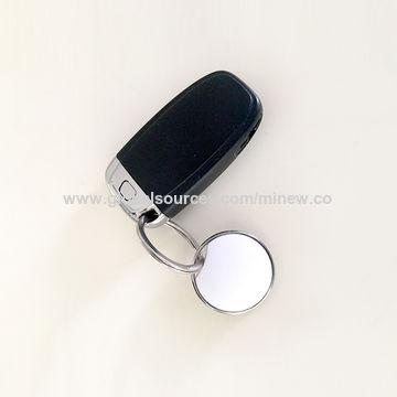 Keychain Tracker Bluetooth 5 0 BLE Button iBeacon Round