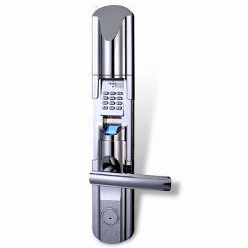 china outdoor biometric safe gate door lock lan network fingerprint door lock
