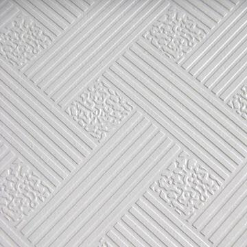 Pvc Gypsum Ceiling Tiles With Sound Insulating Global Sources