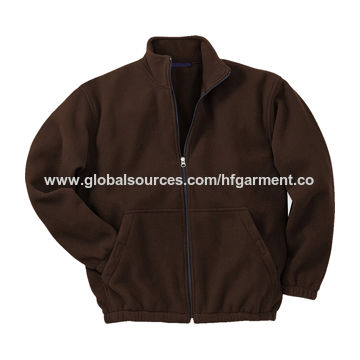 China Microfiber fleece jacket from Fuzhou Manufacturer: Fuzhou