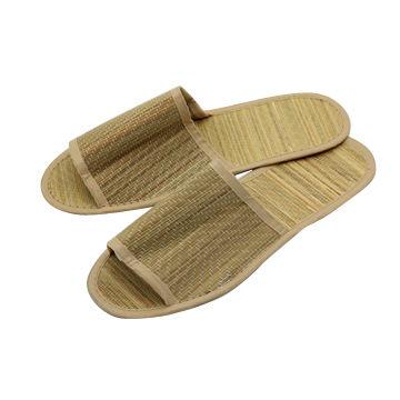 95df32414 China Hotel Fashion Summer Grass Mat Men s Women s Slippers Fancy Slippers  ...