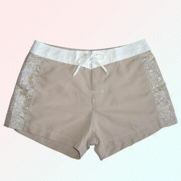 6c5ea617a6 China Woven Microfiber Ladies' Boardshorts, Different Designs Available