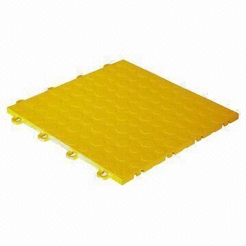China High Impact Polypropylene Interlocking Floor Tiles For Garage