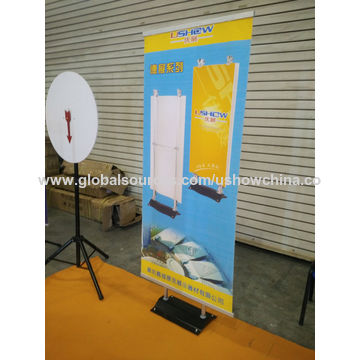 Exhibition Stand Banner : German stand banner display aluminum hot sale global sources