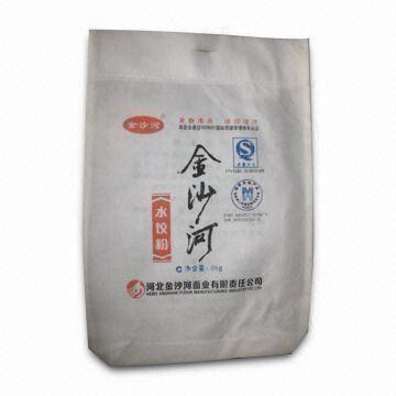 Pp Flour Nonwoven Bag Suitable For 10kg Flour Customized Sizes