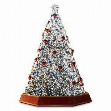 china 8m giant christmas tree with led light decorated with pine cone bow and - Glass Christmas Tree With Lights
