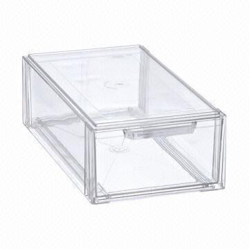 Clear Acrylic Shoe Display Box Global, Shoe Glass Case