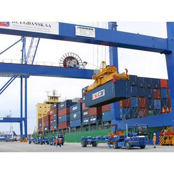 Container shipping freight services