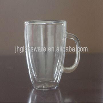 Pyrex Double Wall Glass Coffee Mug Global Sources
