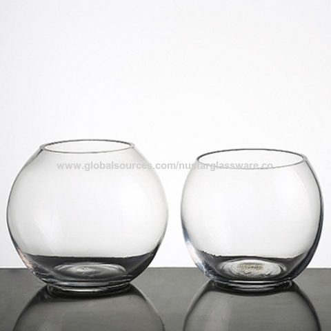 China Glass Fish Bowl Glass Ball Vase On Global Sources
