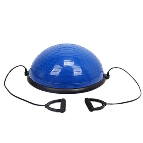 china bosu ball half balance ball with resistance bands on globalchina bosu ball half balance ball with resistance bands