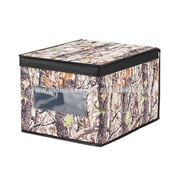 China Fabric Storage Basket, Storage Box With Clear Window, Foldable  Household Storage Container ...