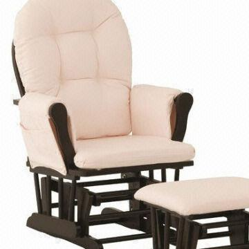 Merveilleux ... China Dolphinbaby Classic Glider Chair And Footstool,wooden Glider Rocking  Chair Oem
