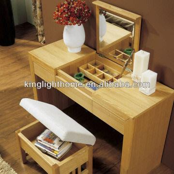 bamboo makeup dresser with mirror global sources