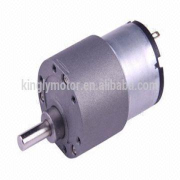 China High Torque Micro 37mm 12v Dc Gear Motor 30 Rpm