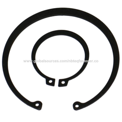 China Ring Washers, Made of Steel, with DIN 471 and DIN 472 ...