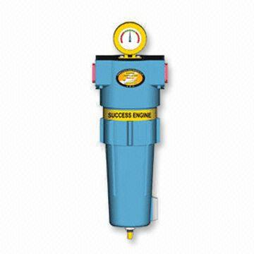 Compressed Air Filter with Capacity of 1 8 to 90 m<sup>3