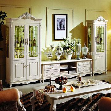 916 Wine Cabinet +tv Cabinet Living Room Set | Global Sources