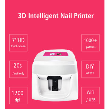 China Digital Nail Art Printer Flower Printing Machines