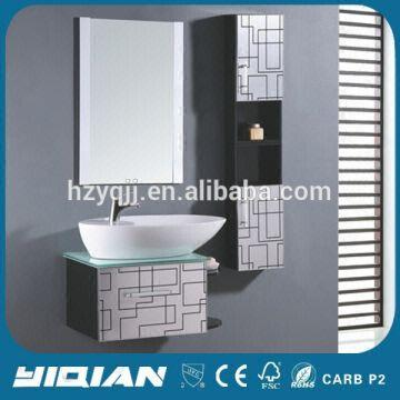 Painting Plastic Bathroom Cabinets modern sanitary ware pvc bathroom vanity 1.oem, dust-free spray