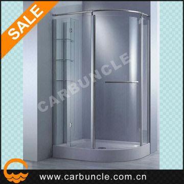 offset quadrant prefab shower enclosures with shower door parts ...
