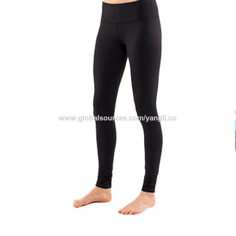 431bec51fb China Custom Dry Fit Gym Fitness Leggings ,Nylon Spandex lulu Yoga Pants ...