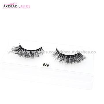 5419bdff576 ... China Wholesale price 3D strip Mink Eyelashes real mink fur eyelashes  ...