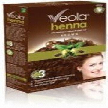 Bajaj Veola Henna Herbal Hair Color - BROWN, Hair Color,Herbal Hair ...