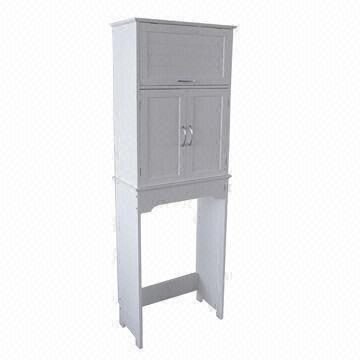 China Bathroom Cabinet/Space Saver With Stylish White Painted Finish And  Easy To Assembly