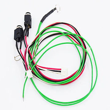 china dc jack connector wiring harness for home appliances
