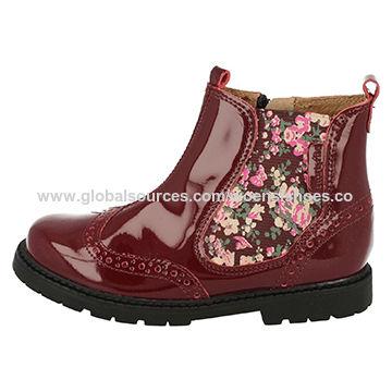 New design fancy low heel chelsea