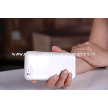 China TPU sticky case for iPhone 6/6S, sticks to flat glass, mirror