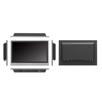 "13.3"" industrial LCD monitor with capacitive touch function, HDMI, VGA, DVI & A/V inputs"