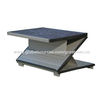 China Top Sale 3-way Folding Aluminum Adjustable Foot Stool
