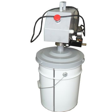 electric grease pump T120 with Barrel | Global Sources