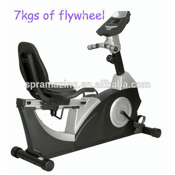 Professional magnetic stationary bike with 7kgs of flywheel
