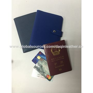 China Passport holder, travel, PU, nylon polyester & leather, OEM are welcome