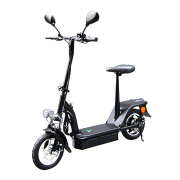Folding Electric Scooter with 36V/350W Brushless Motor, 36V