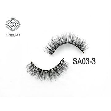 c48ca62e2c6 ... China Wholesales Handmade Real Mink Eyelash 3D Mink Lashes own logo ...