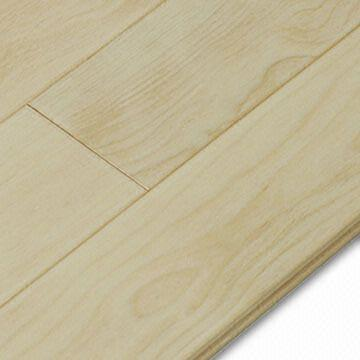 Maple Solid Wood Flooring Highly Anti Scratch And Abrasion