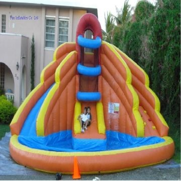 Summer Hot Sale Commercial Inflatable Water Slide In