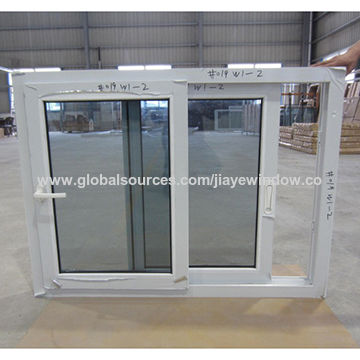 China Double Glazed Gl Sliding Style Upvc Windows
