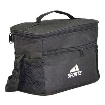Polyester cooler bag cross cooler bag cheap lunch bag
