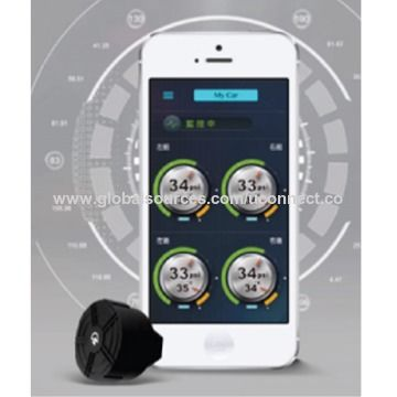 Taiwan Bluetooth V4.1 BLE Tire Pressure Monitoring System for Car