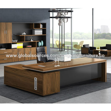 Delightful ... China Luxury CEO Manager Table Design Melamine Wooden Executive Modern  Office Desk ...