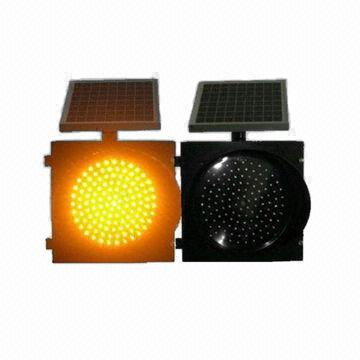 Awesome ... China Solar Yellow And Black Flashing Traffic Light Idea