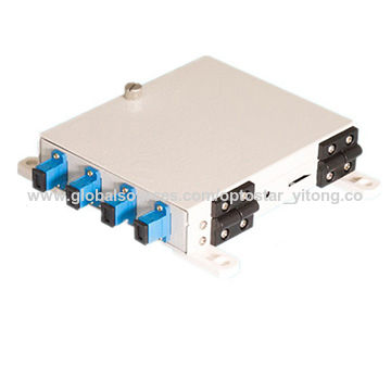 5992294024bf China 4-port Fixed Rack-mount Fiber-optic Patch Panel