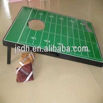 China Football Field Board Set Bean Bag Toss